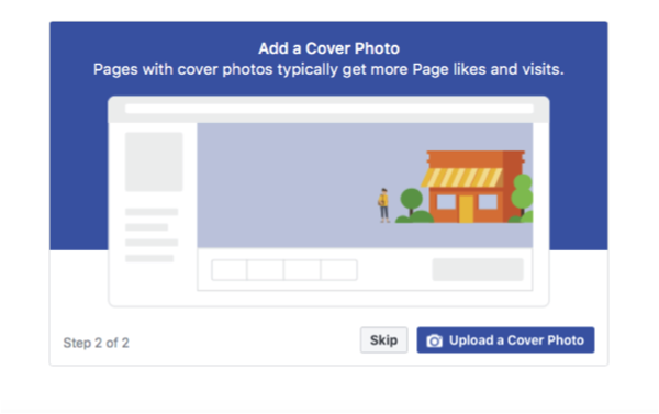 Add Facebook Business Page Cover Photo, Web Champs marketing, Oklahoma